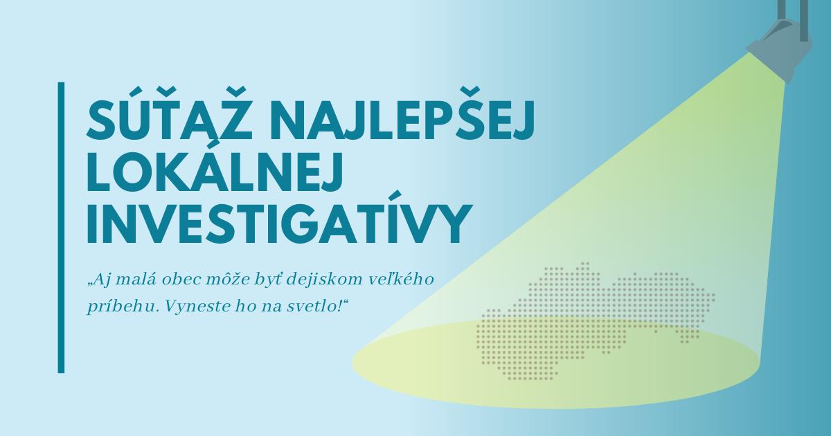 Výsledky druhého kola súťaže Najlepšej lokálnej investigatívy 2021