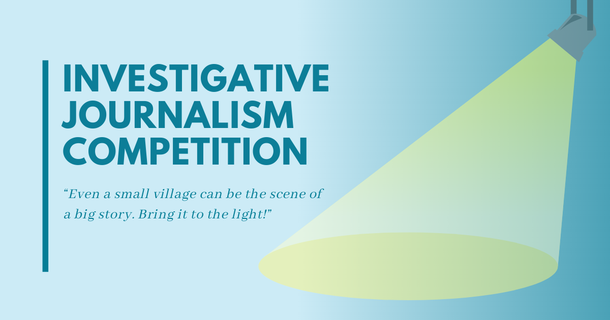 Final results of the Local Investigative Journalism Competition 2021